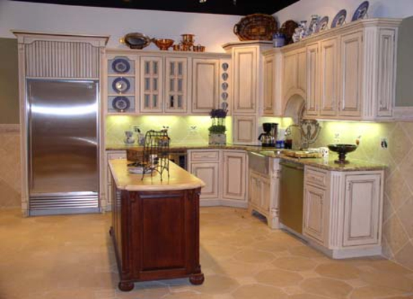 cocina clsica madera - Cocinas Clasicas