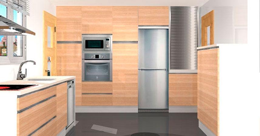Muebles de cocina para madrid y toledo proyectos en 3d for Muebles de cocina toledo