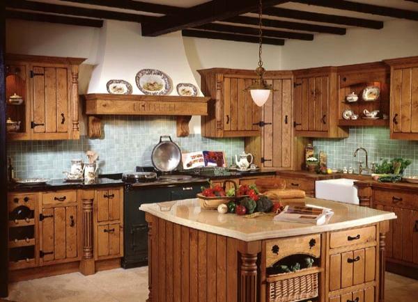 cocina rstica clsica - Muebles De Cocina Rusticos