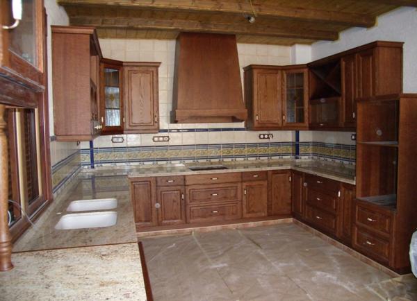 Muebles de cocina para madrid y toledo cocinas r sticas for Muebles rusticos madrid