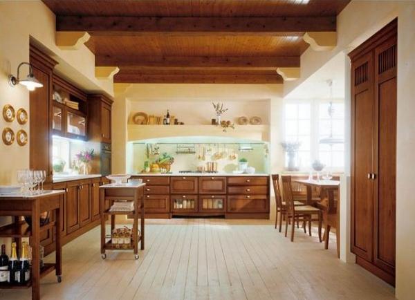 Muebles de cocina para madrid y toledo cocinas r sticas for Cocinas rusticas modernas
